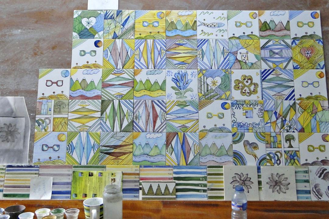 Azulejos de azeit o um s mbolo da cultura portuguesa for Fabrica de azulejos