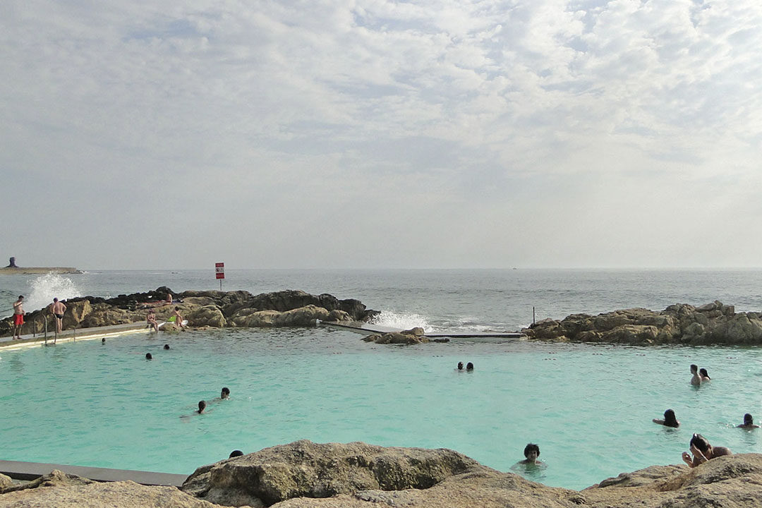 Piscina das Marés: um oásis junto ao mar de Leça da Palmeira 1