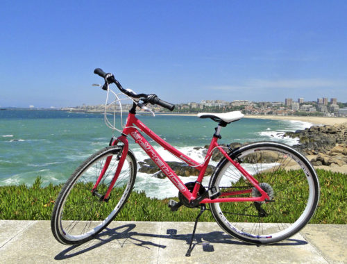 Viajar de bicicleta de Vila Nova de Gaia até Espinho 2