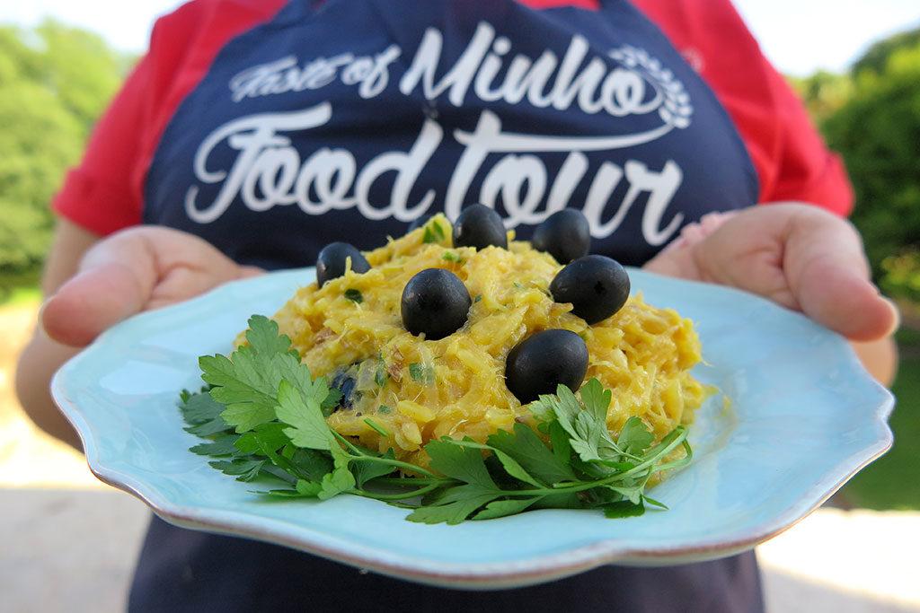 Workshop de culinária portuguesa: Bacalhau à Brás 1