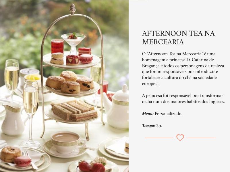 Experiência Afternoon Tea