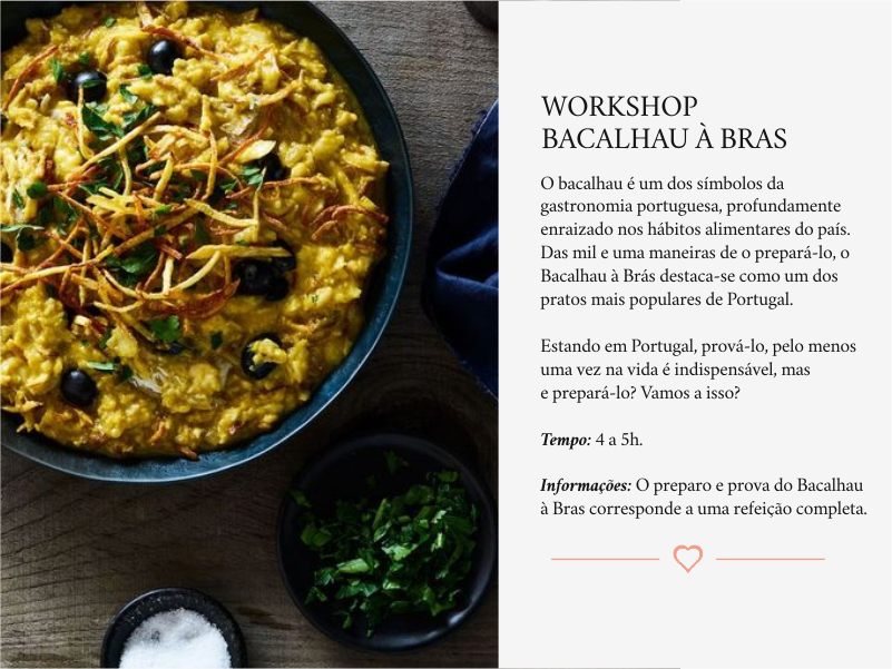 Workshop Bacalhau à Bras